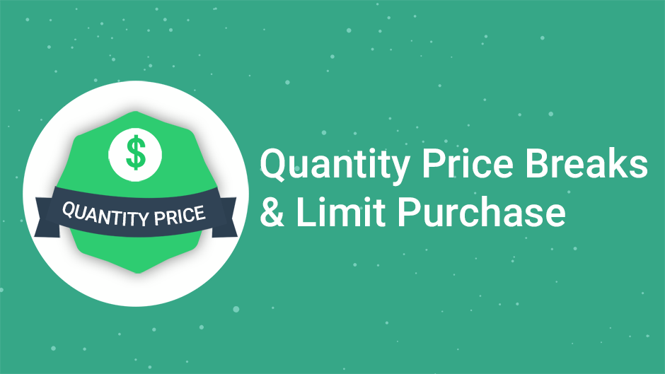 Quantity Price Breaks by Omega